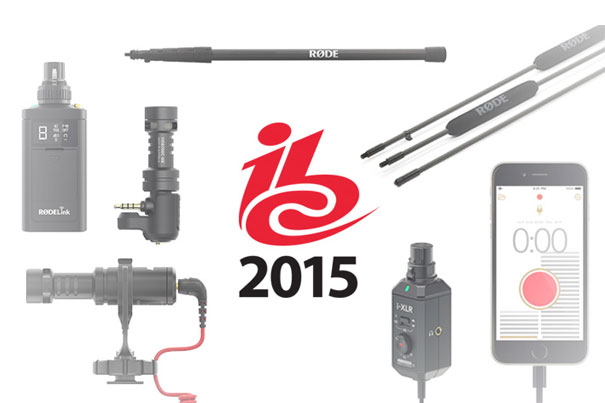 RØDE: six new products at IBC 10