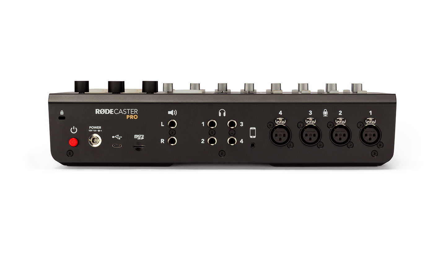 RØDECaster Pro audio console-first look 3