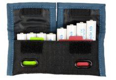 Rogue Indicator Battery Pouch: a battery organizer