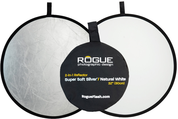 Rogue: a Super Soft Silver reflector