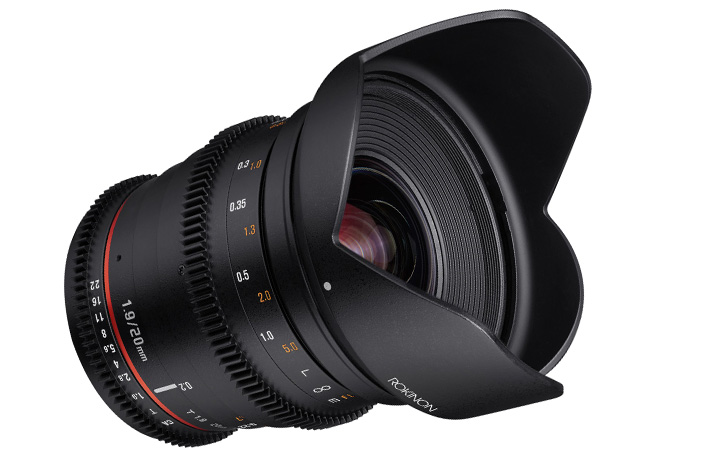 New Rokinon Cine DS now available