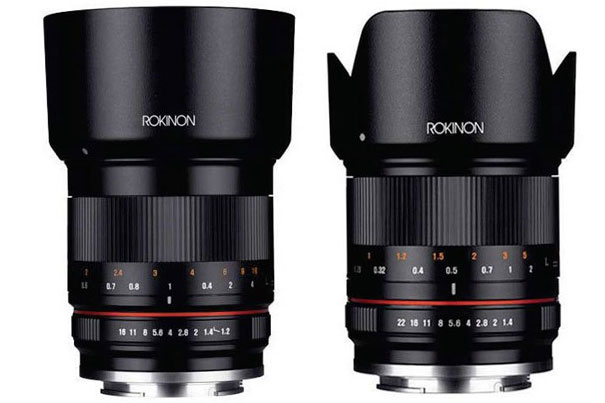 Rokinon: new 21 and 50mm cine and photo lenses 2