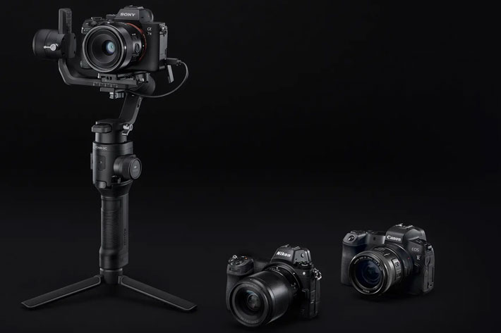 Ronin-SC: a lightweight single-handed 3-axis gimbal for mirrorless cameras 6