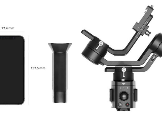 Ronin-SC: a lightweight single-handed 3-axis gimbal for mirrorless cameras