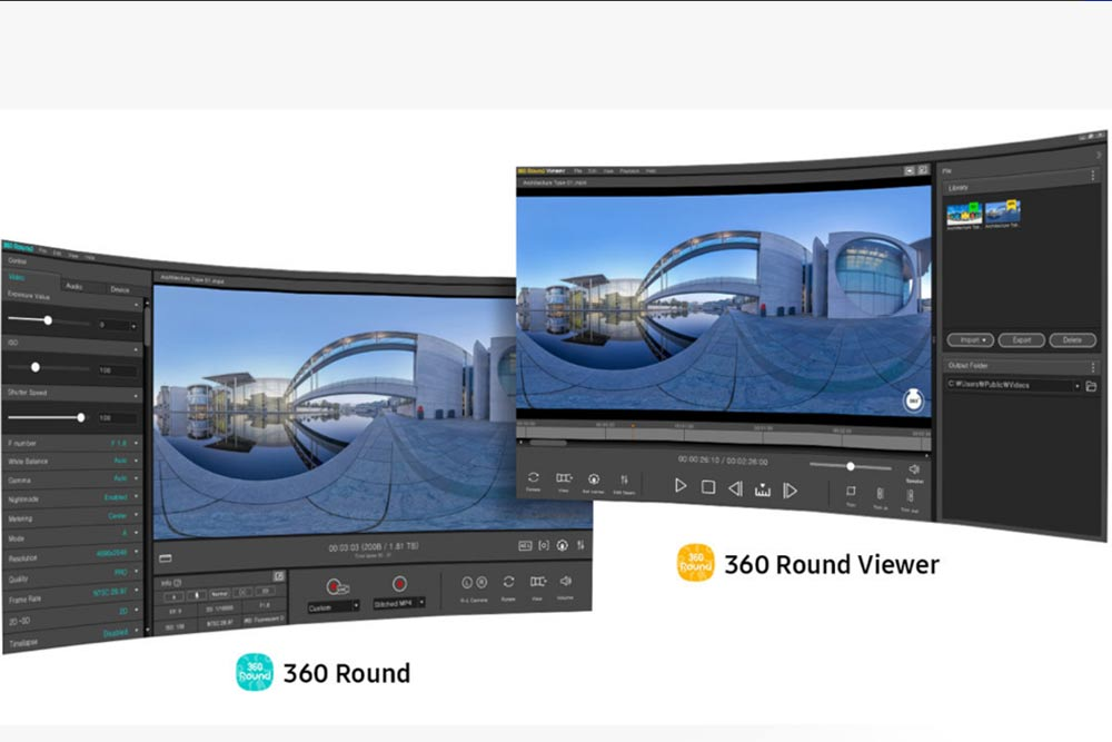Samsung 360 Round ready for film and broadcast
