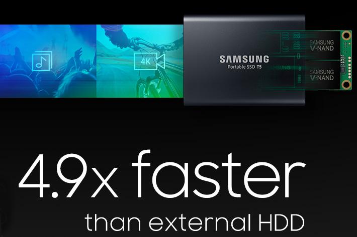 Samsung SSD T5 for content creators