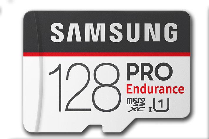 Samsung introduces PRO Endurance memory cards