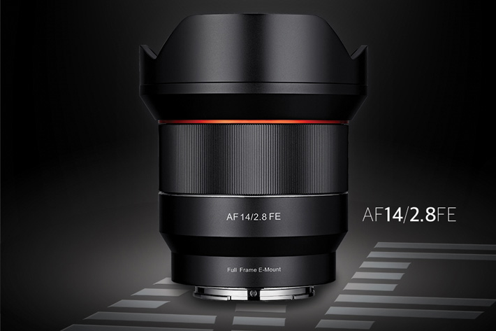 Samyang AF 14/2.8 for Sony E mount