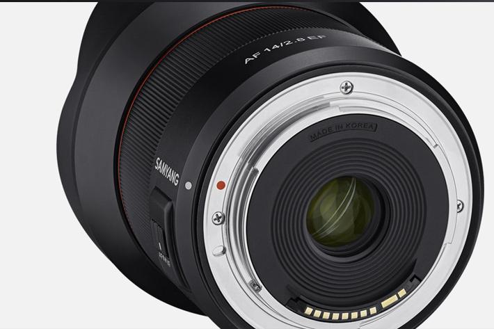 Samyang AF 14mm F2.8EF: first AF lens for Canon DSLRs