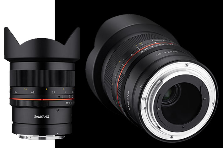 Samyang has two Canon RF lenses with manual focus