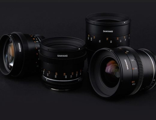 Samyang announces your first cine lens set