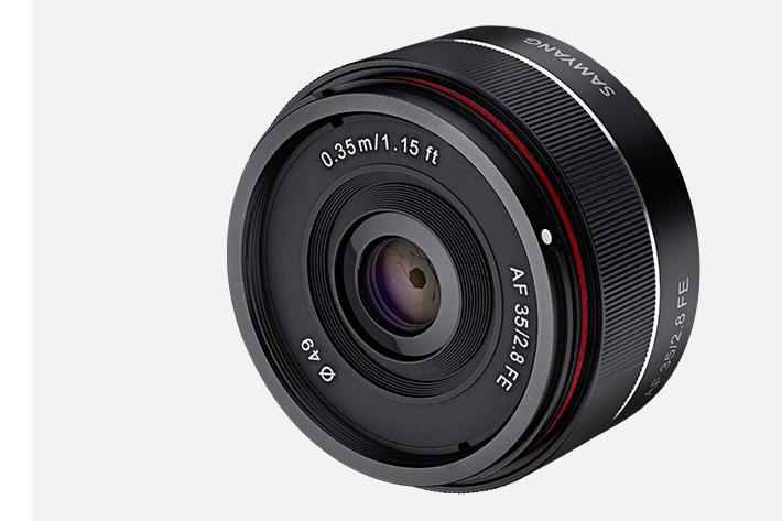 Samyang introduces third AF lens
