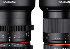 Samyang: new 35mm F1.2 Photo and Cine Lenses