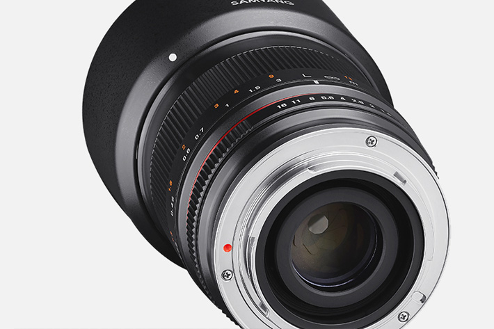 Samyang: new 35mm F1.2 Photo and Cine Lens
