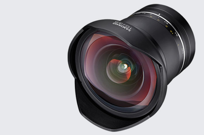 Samyang XP: a 10mm f/3.5 lens for full frame Canon and Nikon DSLRs
