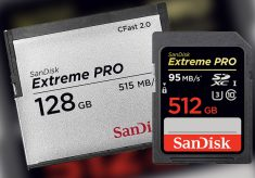 SanDisk: Upgraded CFast 2.0 and New 512 GB SD
