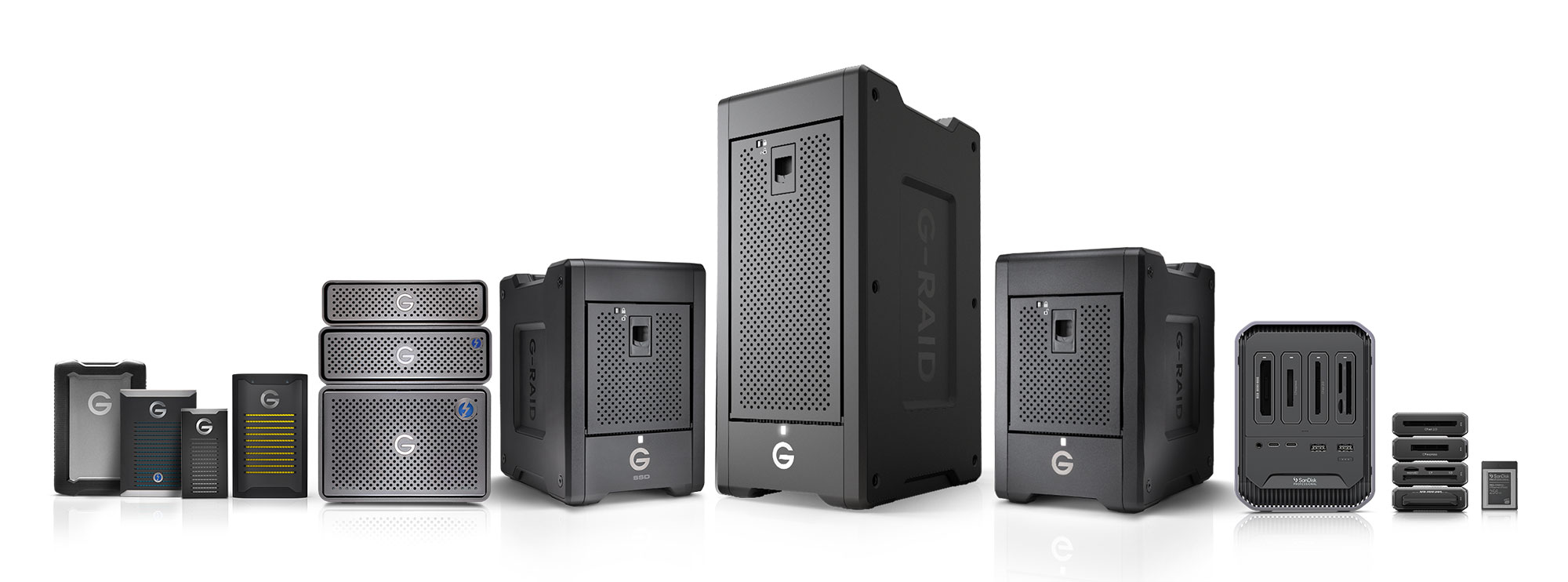 Western Digital launches SanDisk Professional brand