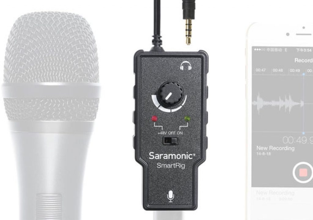 Connect a XLR microphone to your smartphone 1