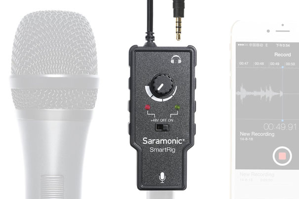 Connect a XLR microphone to your smartphone 10
