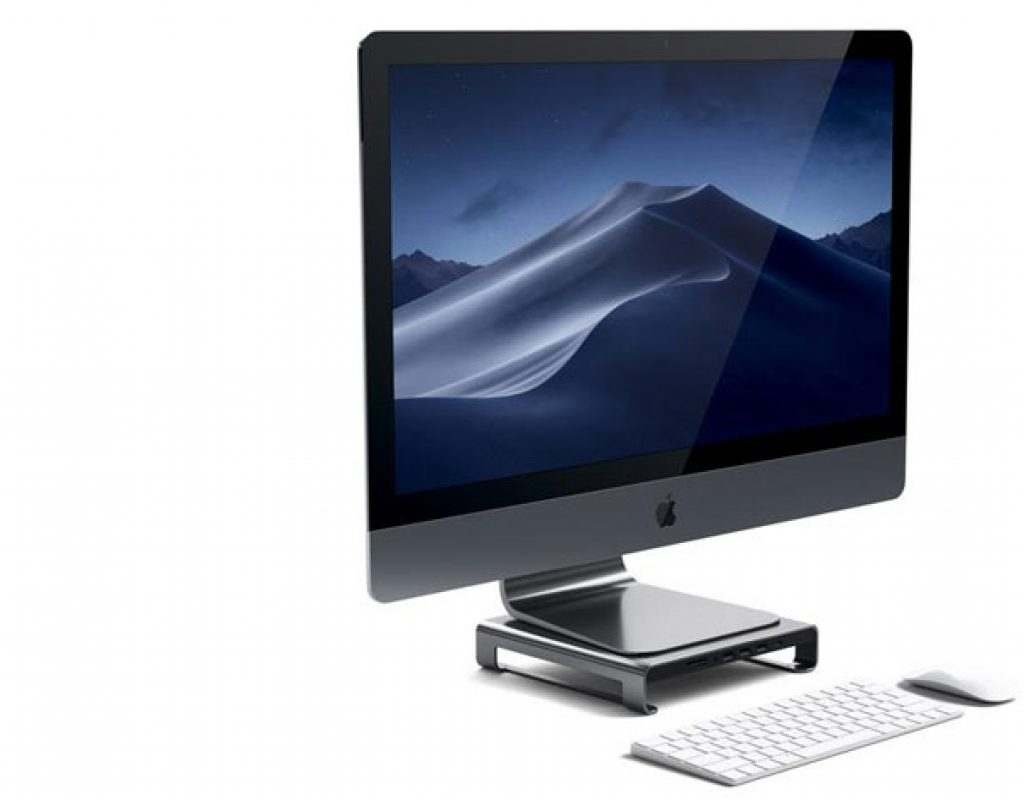 A Satechi Type-C Hub for your iMac monitor
