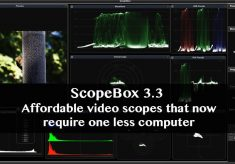 ScopeBox 3.3: Affordable and customizable video scopes