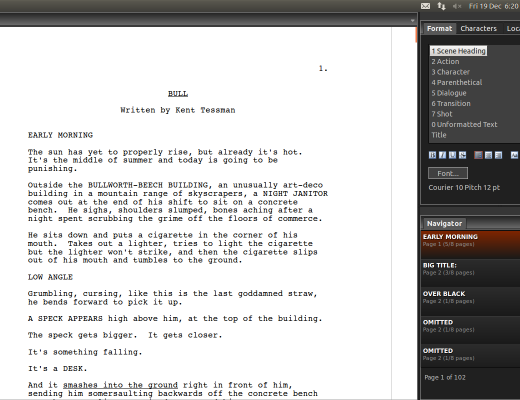 Fade In Pro: Screenwriting's best kept secret 23