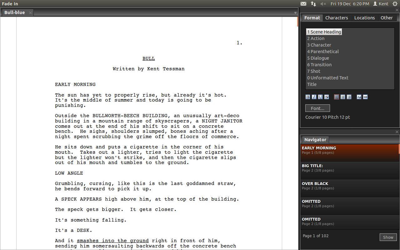 Fade In Pro: Screenwriting's best kept secret 3