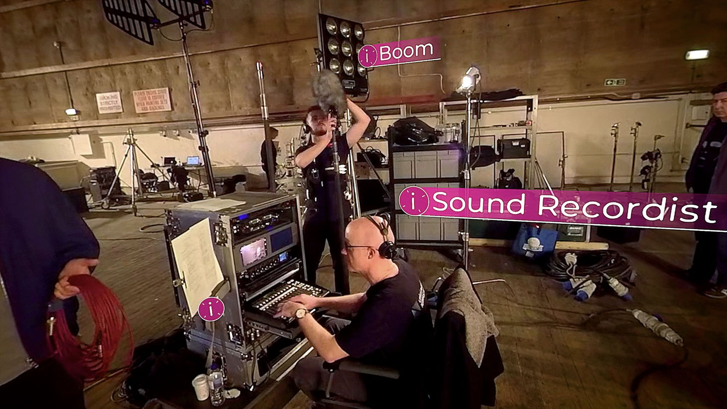 ScreenSkills – First Day: On Set, a virtual tour of a production