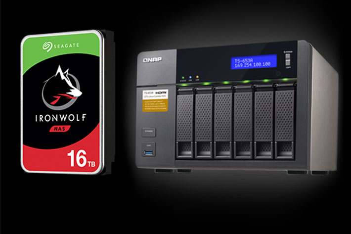 Seagate introduces the first 16TB HDD for NAS systems