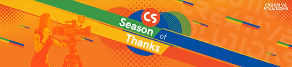 Creative Solutions announces its Season of Thanks