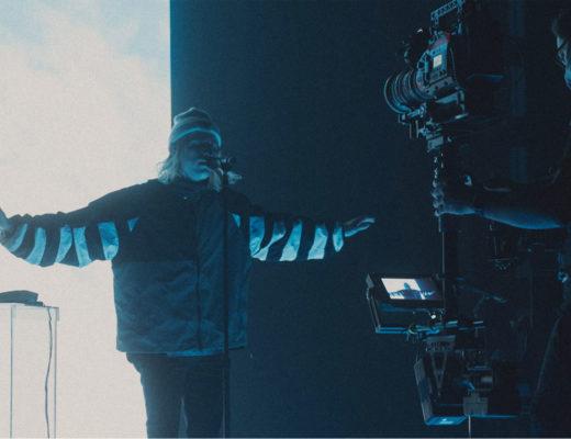 Porter Robinson's Secret Sky VR concert shot with Blackmagic