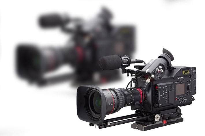 Sharp's 8K MFT Video Camera is part of the AioT strategy