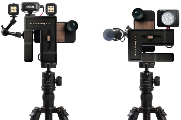 Shoulderpod G2: a professional video production grip for smartphones 4