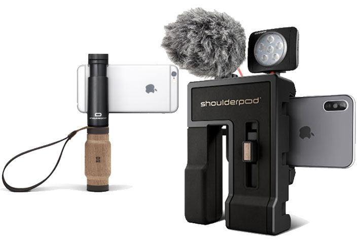 Shoulderpod G2: a professional video production grip for smartphones 2