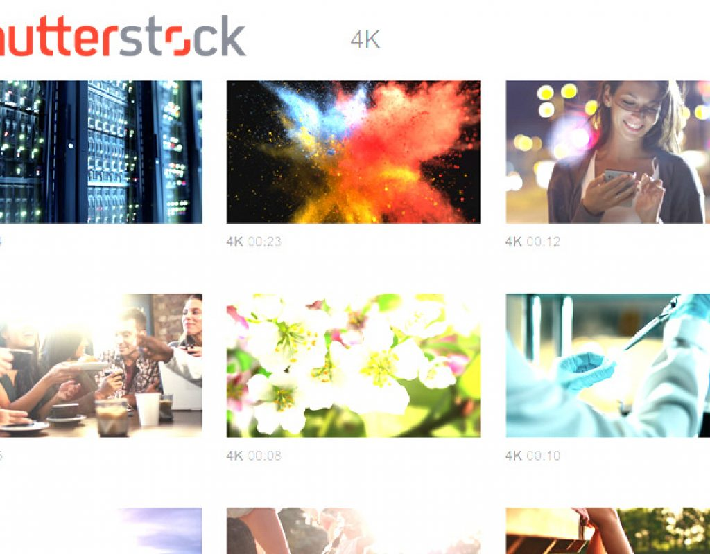 Shutterstock: 4K submissions are growing