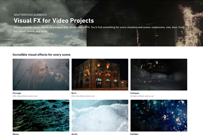 Shutterstock Elements: a new collection of video effects for filmmakers 4