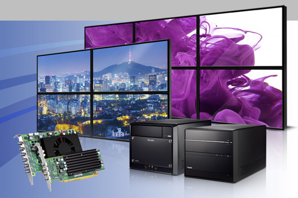 Shuttle and Matrox Show Video Walls at InfoComm 1