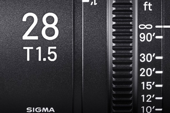 The new Sigma 28mm T1 5 Full-Frame Cine Lens will be available in