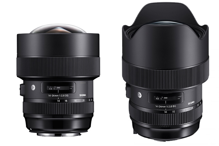 Sigma announces the 14-24mm F2.8 DG HSM Art and introduces Front Conversion Service