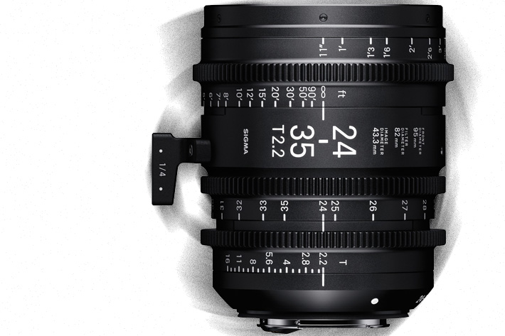 Sigma 24-35mm Cine lens now available