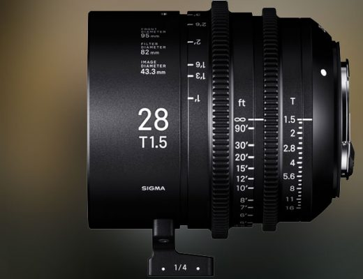 Sigma 28mm T1.5 Full-Frame Cine Lens arrives in March