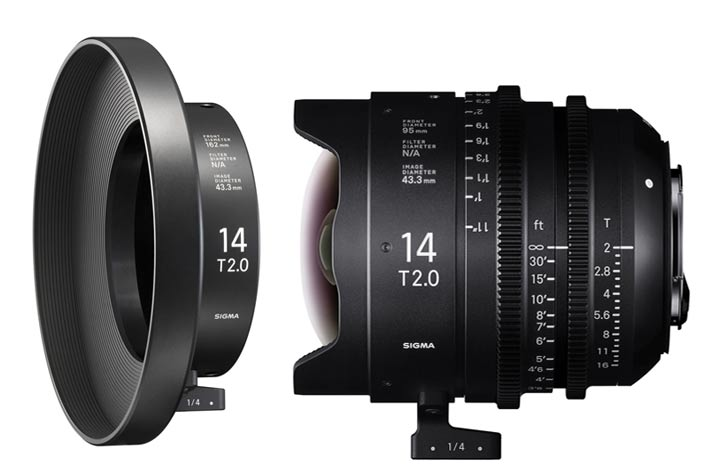 Sigma's new Clamp-On Ring for the 14mm Cine lens