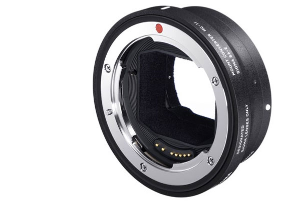 Sigma: a lens adapter for Sony cameras 10