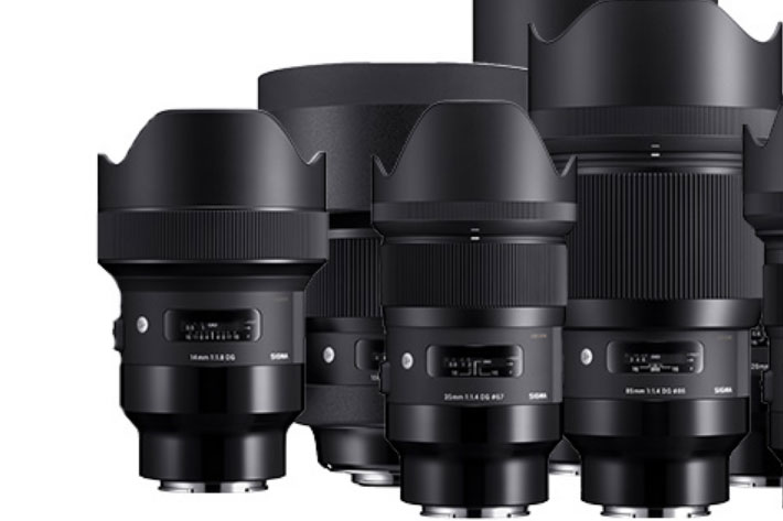 Five Sigma Art prime lenses available for Sony E-mount