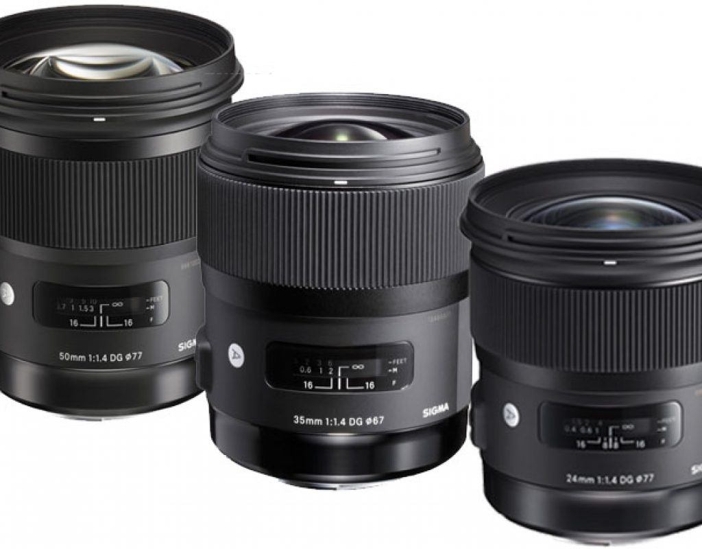 Five Sigma Art prime lenses available for Sony E-mount 5