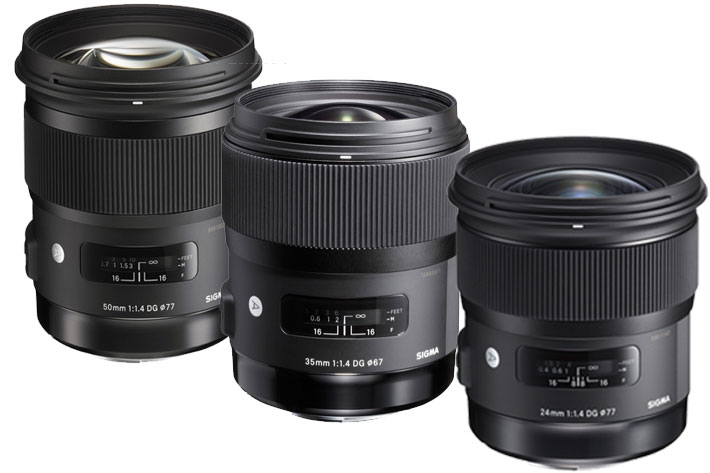 Five Sigma Art prime lenses available for Sony E-mount 6