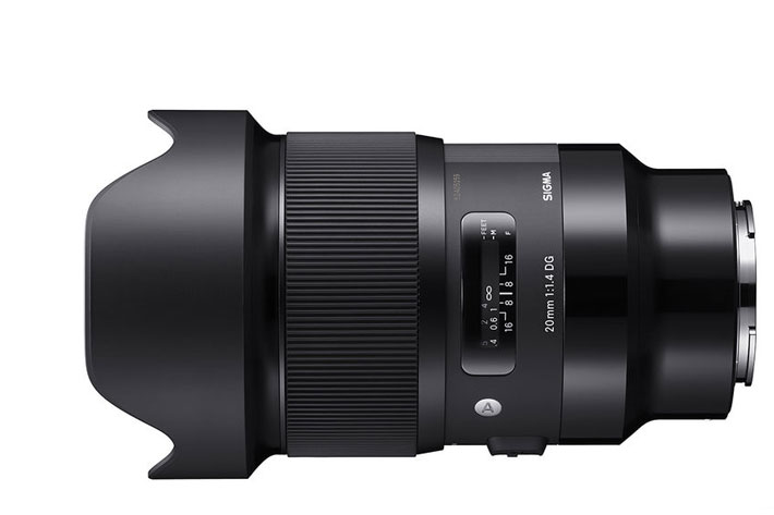 Five Sigma Art prime lenses available for Sony E-mount 7