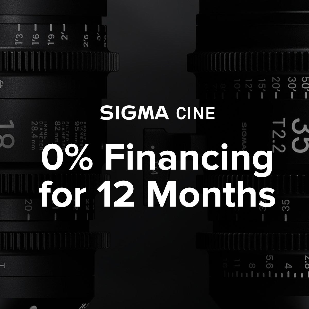 Get your Cine lenses during Sigma's Black Friday