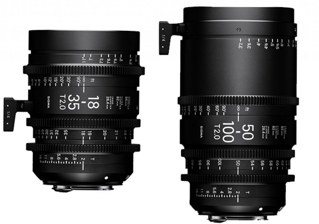 Sigma Cine lenses available December