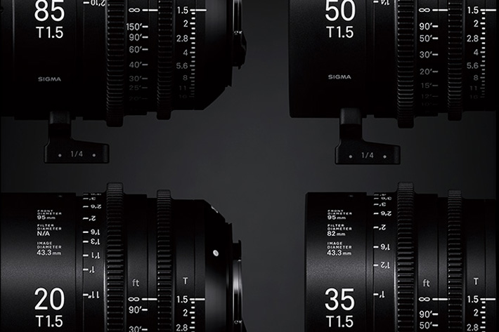 Sigma Cine lenses available December